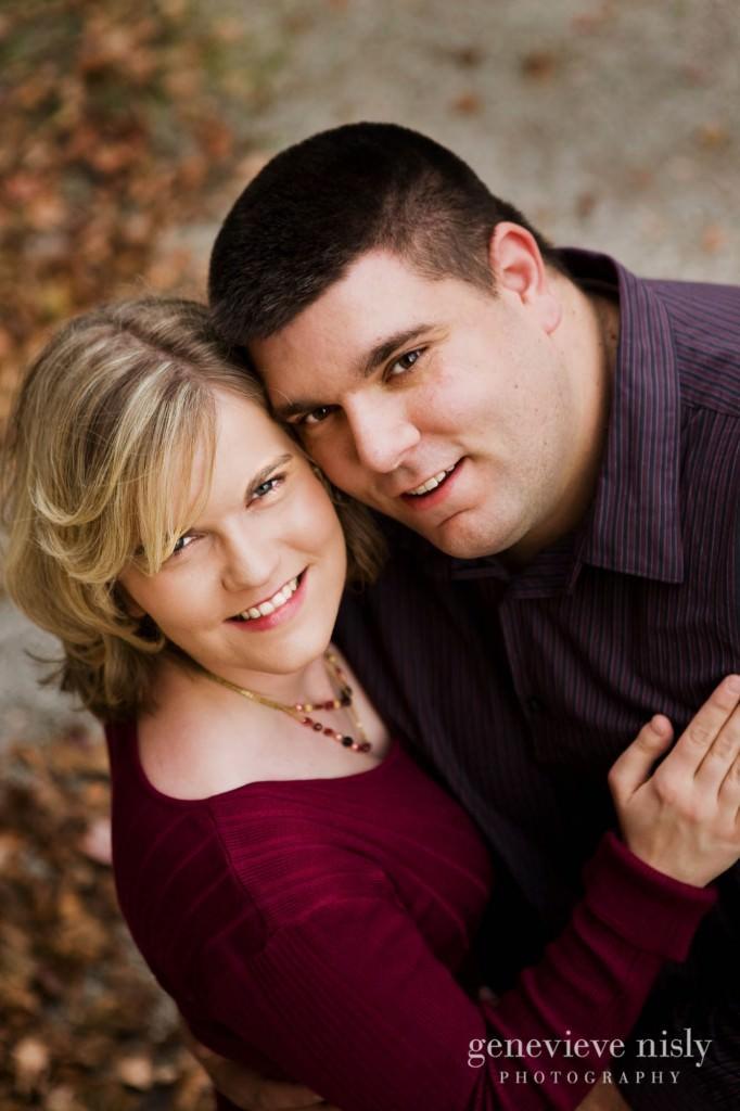 Copyright Genevieve Nisly Photography, Engagements, Fall, Ohio, Wedding, Zoar