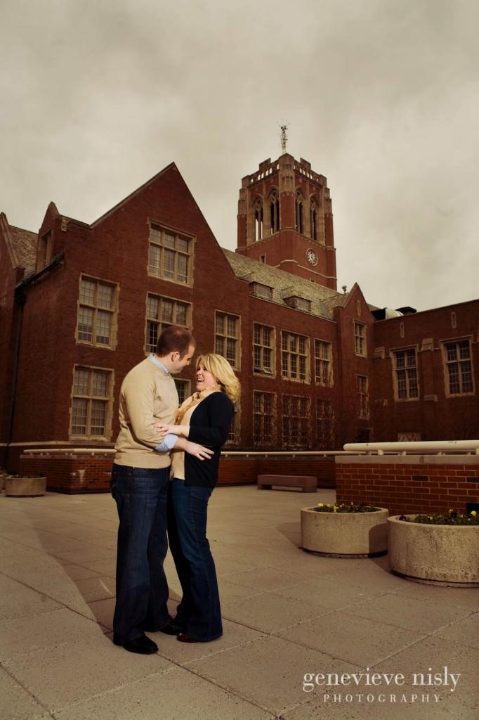 Cleveland, Copyright Genevieve Nisly Photography, Engagements, John Carroll University, Ohio, Spring