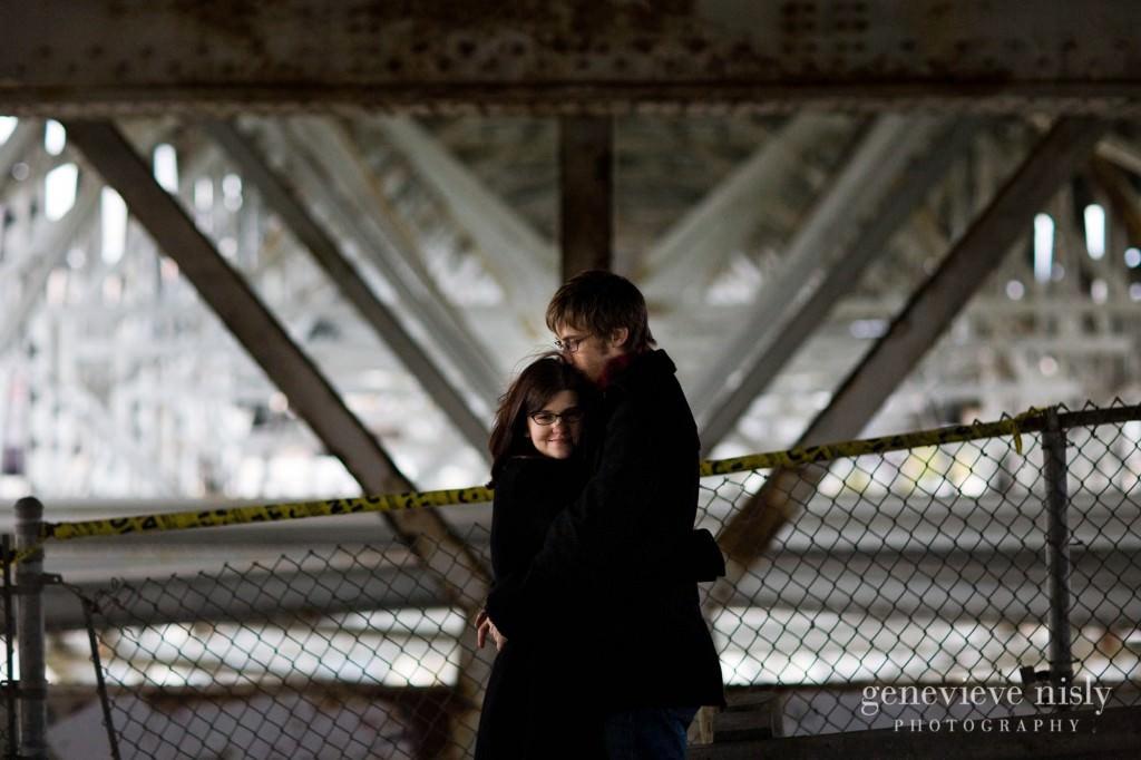 Cleveland, Copyright Genevieve Nisly Photography, Engagements, Ohio, Winter