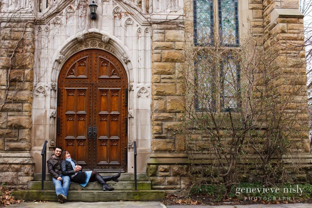 Case Western University, Cleveland, Copyright Genevieve Nisly Photography, Engagements, Ohio, Spring