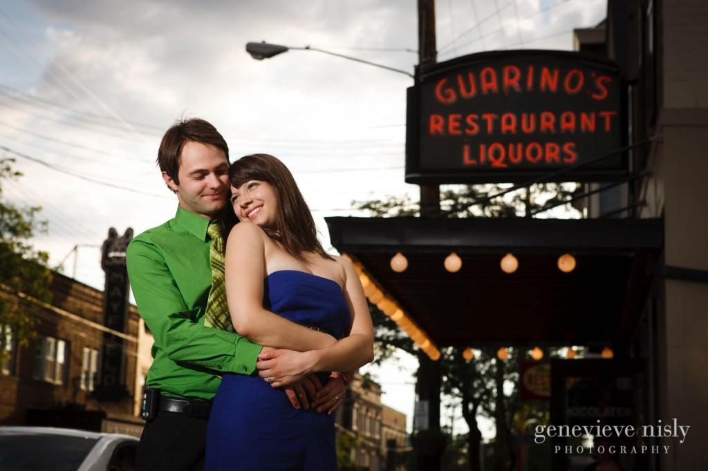Cleveland, Copyright Genevieve Nisly Photography, Engagements, Little Italy, Ohio, Summer