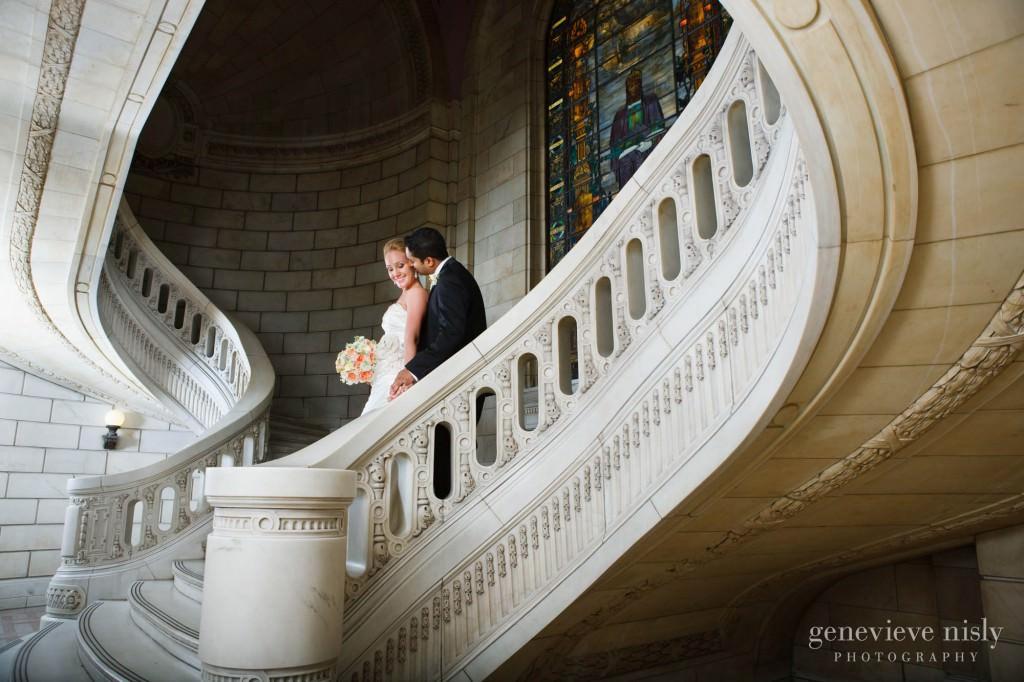 Cleveland, Copyright Genevieve Nisly Photography, Ohio, Old Courthouse, Summer