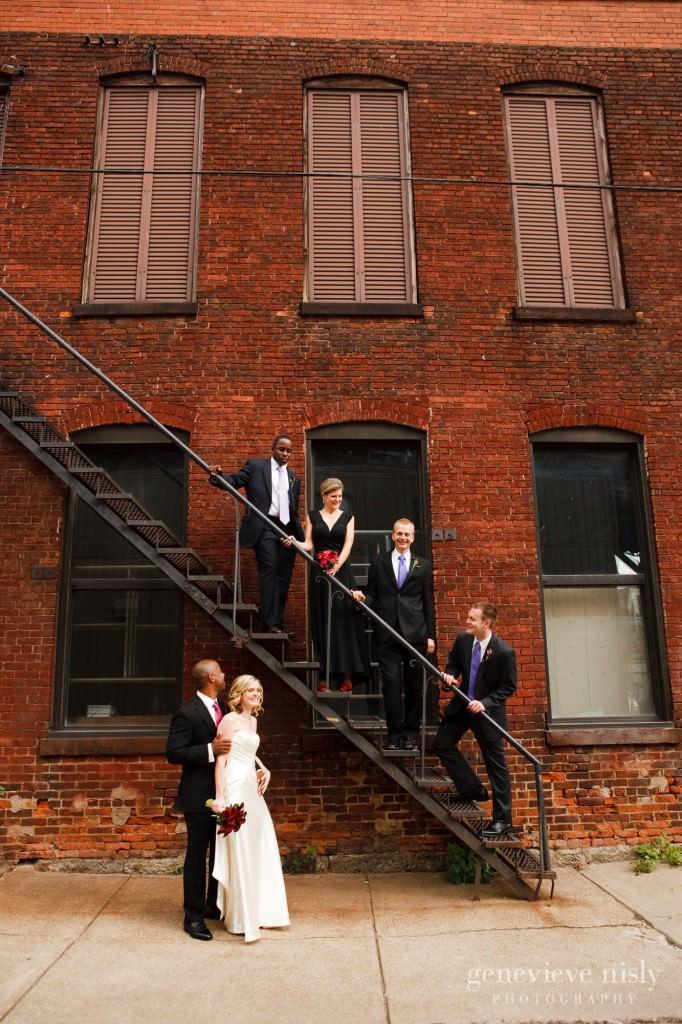 Cleveland, Copyright Genevieve Nisly Photography, Fall, Flats, Ohio, Wedding