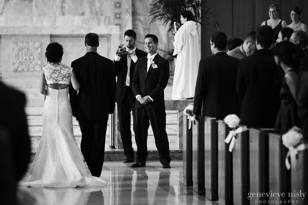 Cleveland, Copyright Genevieve Nisly Photography, Fall, Gesu Church, Ohio, Wedding