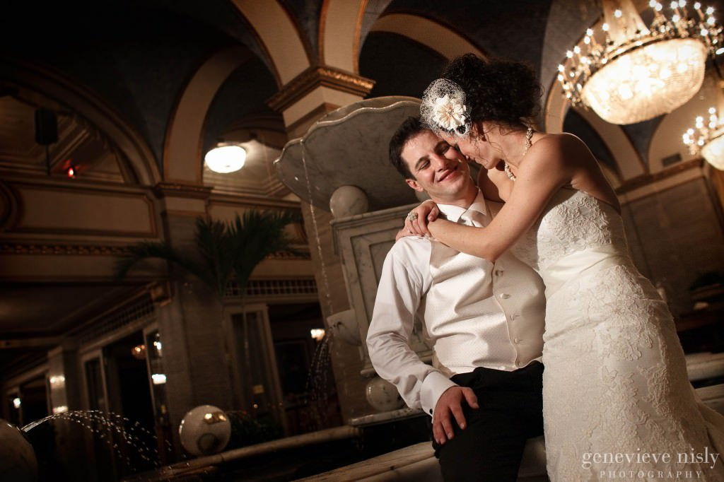 Cleveland, Copyright Genevieve Nisly Photography, Fall, Ohio, Renaissance Hotel, Wedding