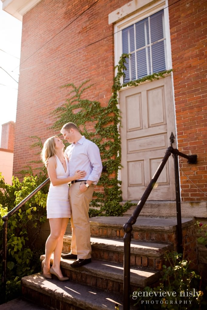 Chagrin Falls, Copyright Genevieve Nisly Photography, Engagements, Summer