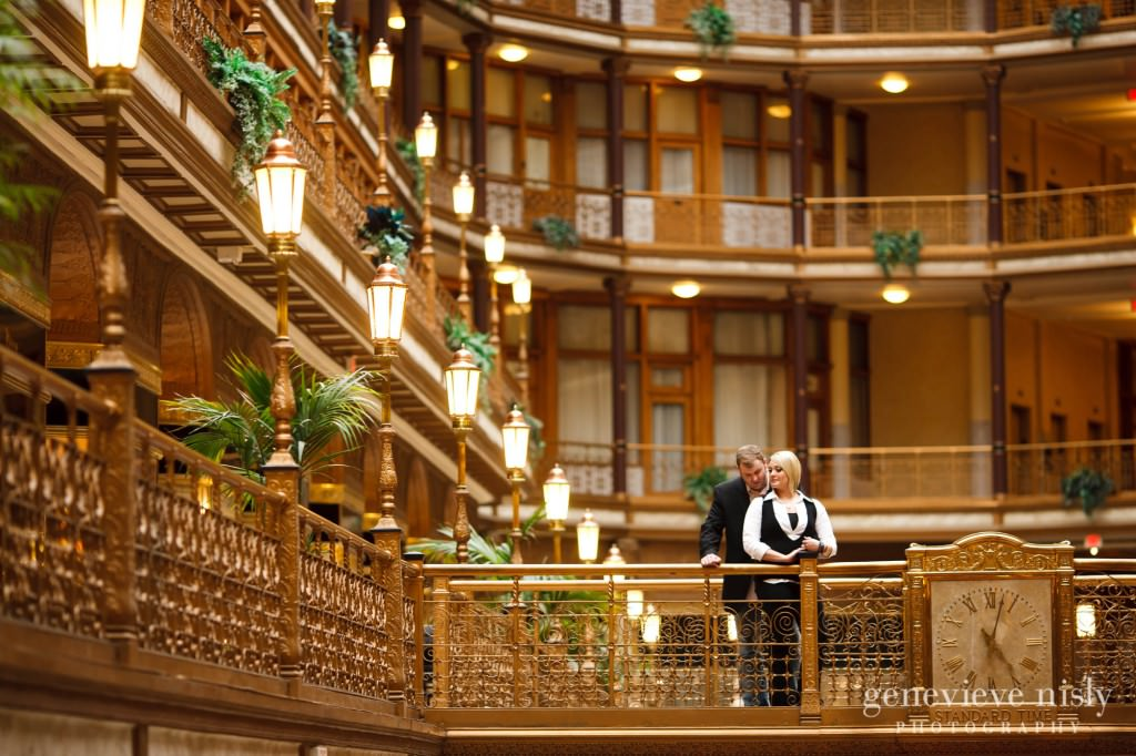 Cleveland, Copyright Genevieve Nisly Photography, Downtown Cleveland, Engagements, Fall