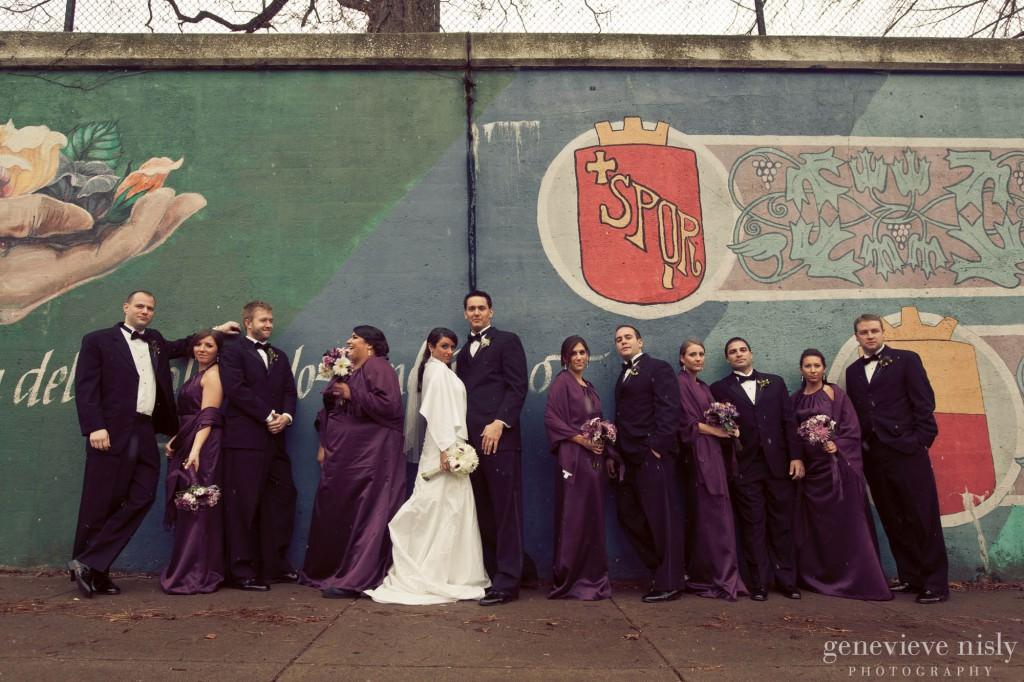 Cleveland, Copyright Genevieve Nisly Photography, Little Italy, Ohio, Wedding, Winter