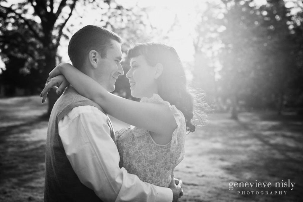 Engagements, Hartville, Ohio, Quail Hollow, Summer