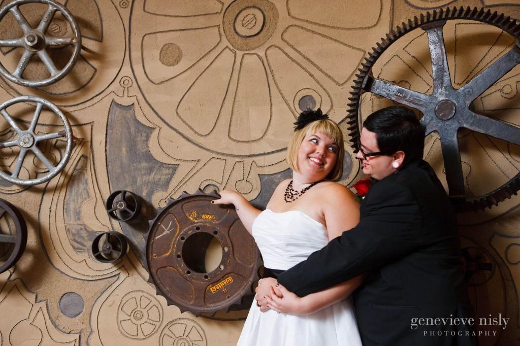 Akron, Copyright Genevieve Nisly Photography, Fall, Ohio, Wedding