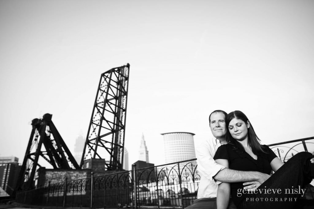 Cleveland, Copyright Genevieve Nisly Photography, Engagements, Flats, Summer