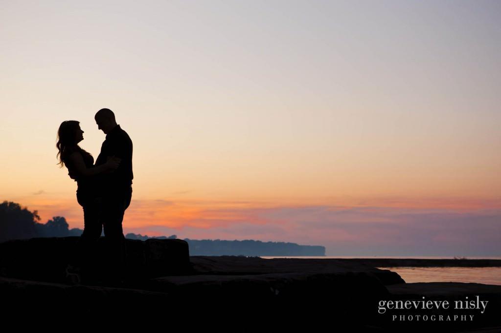 Copyright Genevieve Nisly Photography, Engagements, Huntington Beach, Summer