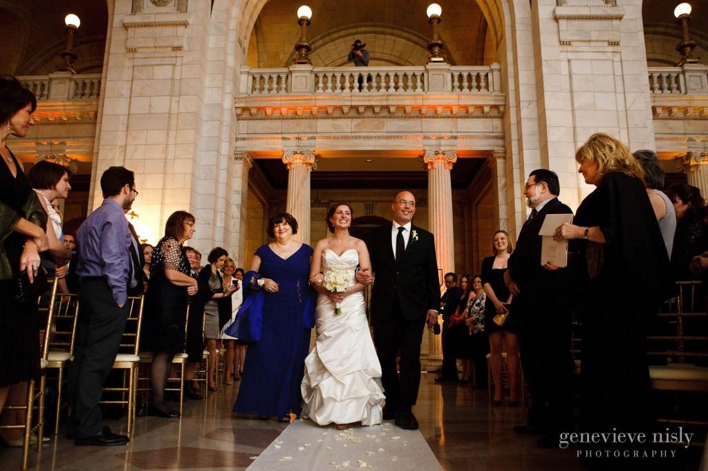 Cleveland, Copyright Genevieve Nisly Photography, Ohio, Old Courthouse, Wedding, Winter