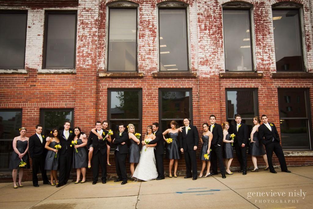 Akron, Copyright Genevieve Nisly Photography, Downtown Akron, Ohio, Spring, Wedding