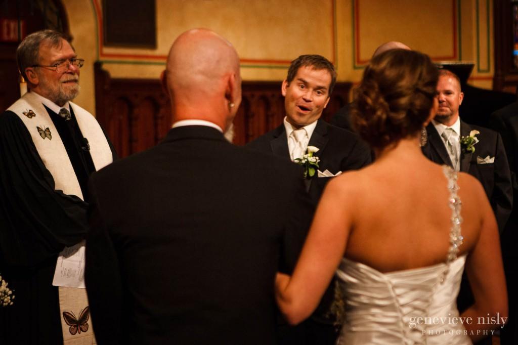 Cleveland, Copyright Genevieve Nisly Photography, Ohio, Old Stone Church, Spring, Wedding