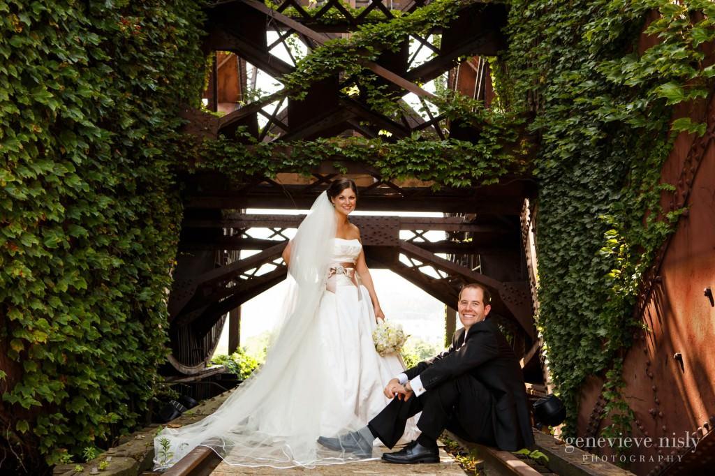Cleveland, Flats, Ohio, Summer, Wedding