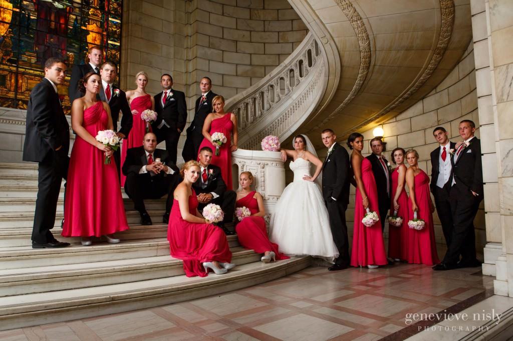Cleveland, Ohio, Old Courthouse, Summer, Wedding