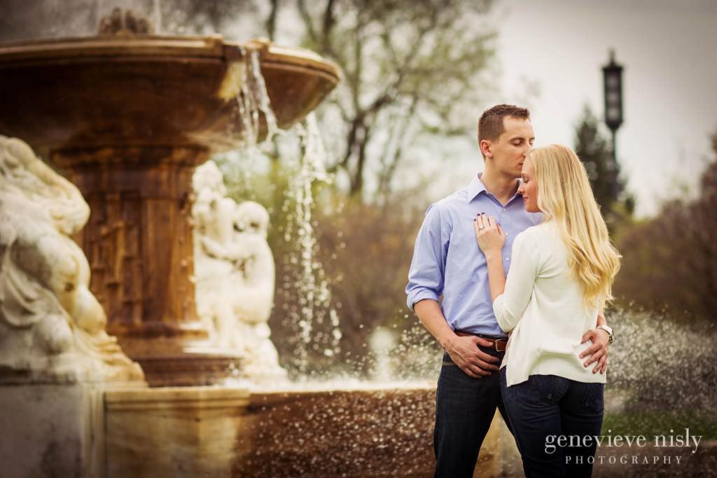 Cleveland, Engagements, Spring, Wade Lagoon