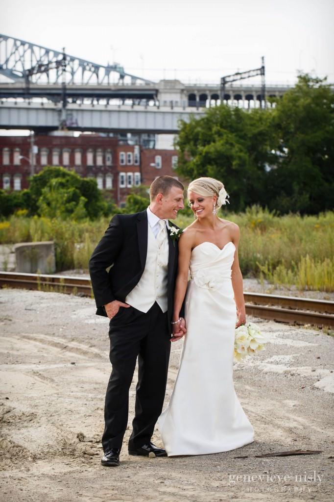 Cleveland, Flats, Summer, Wedding