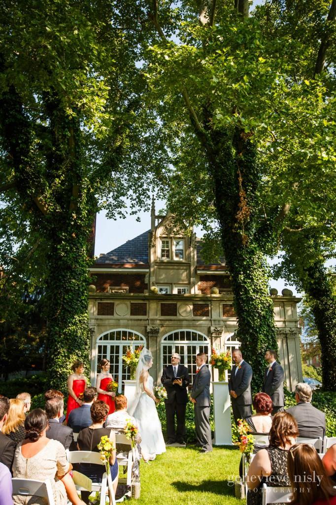 Cleveland, Copyright Genevieve Nisly Photography, Glidden House, Ohio, Summer, Wedding