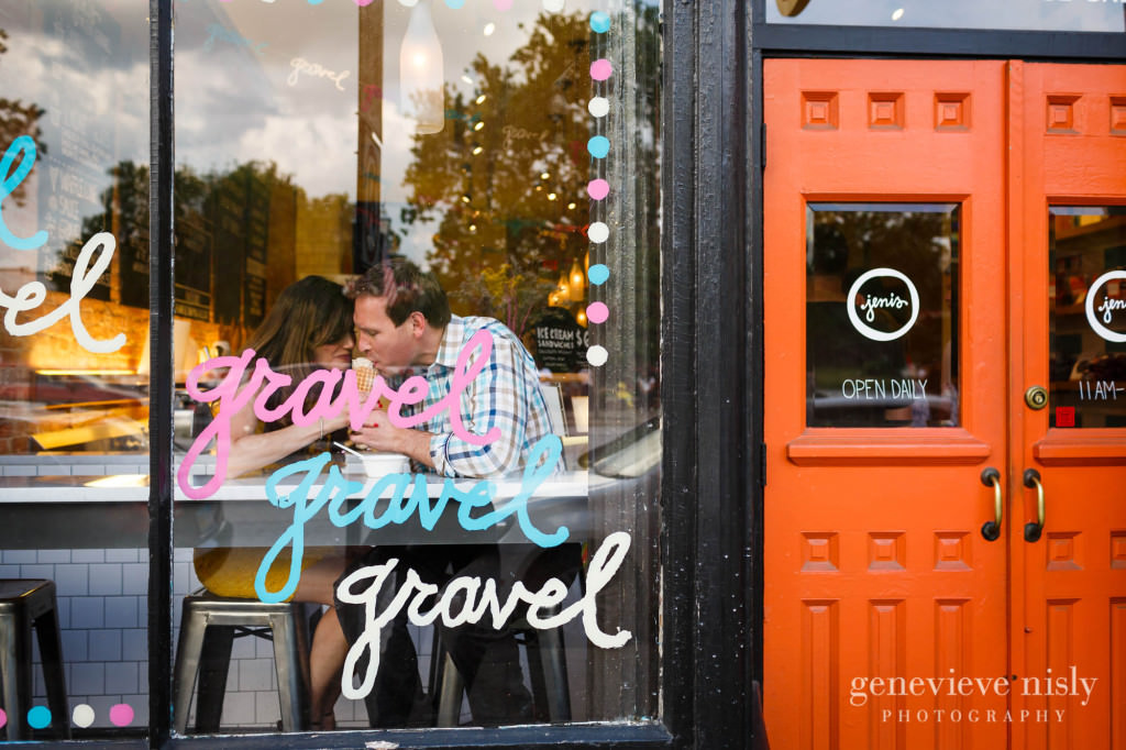 Chagrin Falls, Copyright Genevieve Nisly Photography, Engagements, Ohio, Summer