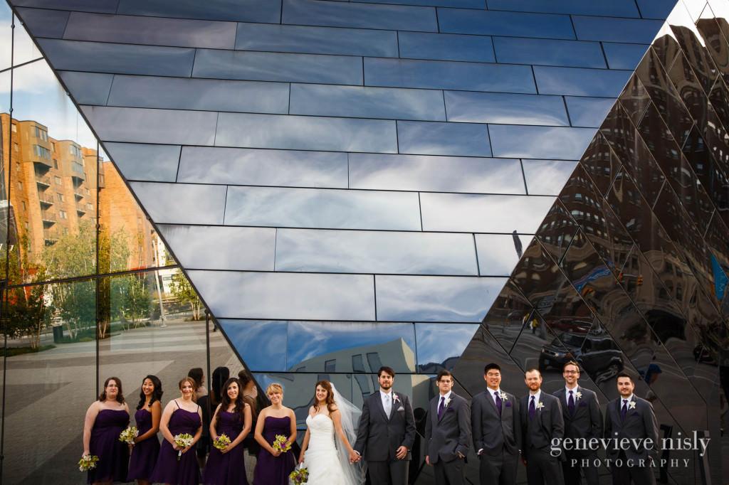 Cleveland, Copyright Genevieve Nisly Photography, MOCA, Summer, Wedding