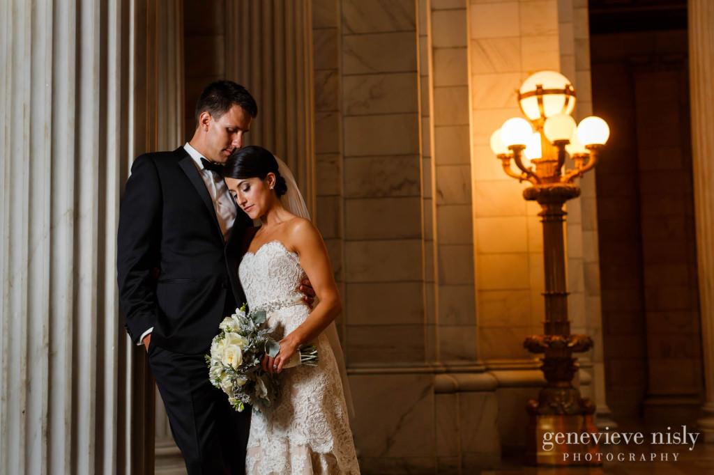 Cleveland, Copyright Genevieve Nisly Photography, Fall, Ohio, Old Courthouse, Wedding