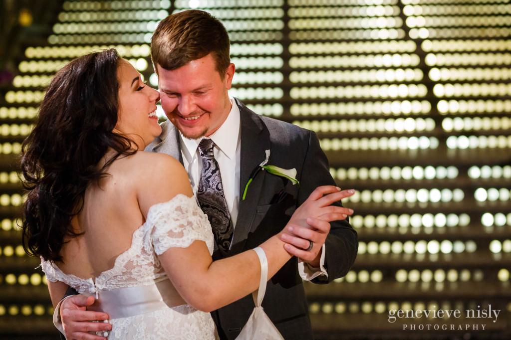 Cleveland, Copyright Genevieve Nisly Photography, Hyatt Arcade, Ohio, Wedding, Winter