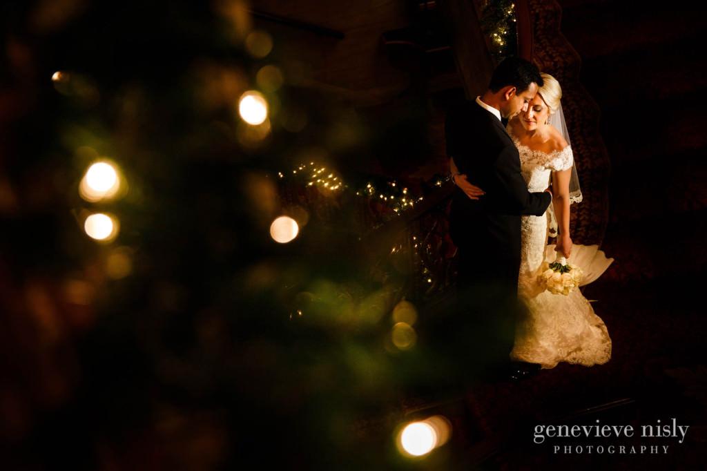 Cleveland, Copyright Genevieve Nisly Photography, Renaissance Hotel, Wedding, Winter