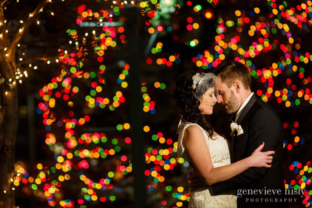 Canton, Copyright Genevieve Nisly Photography, Downtown Canton, Ohio, Wedding, Winter
