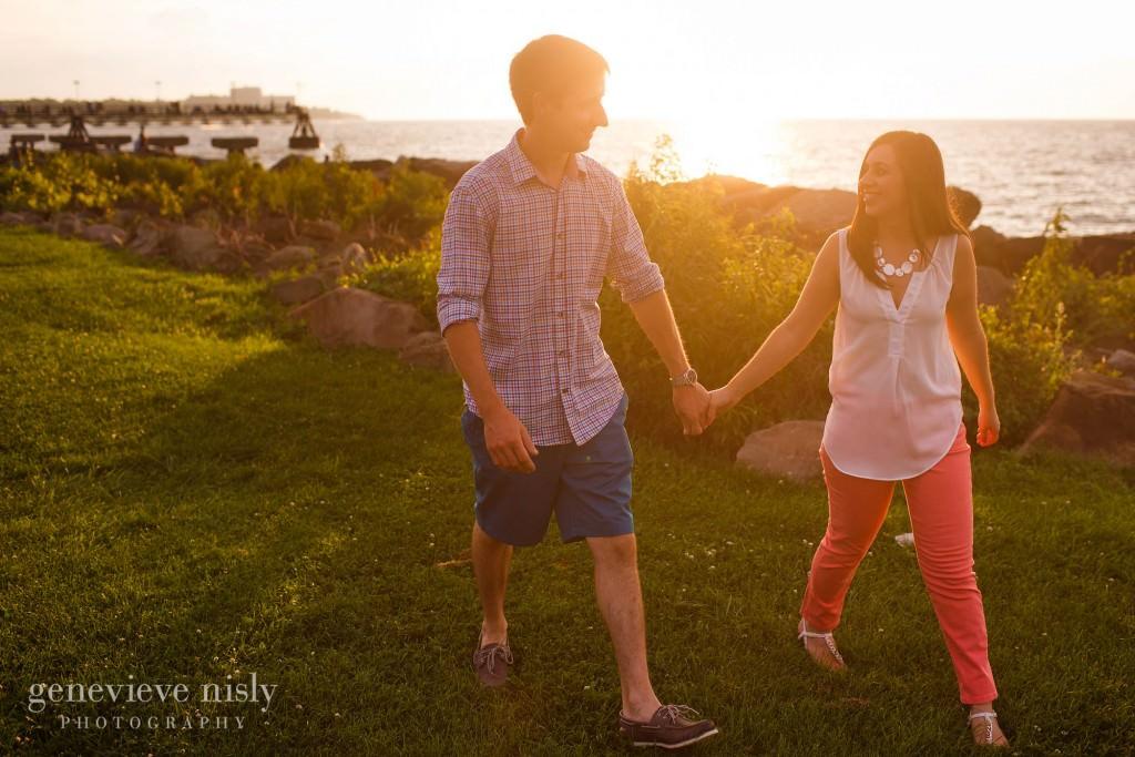 Cleveland, Copyright Genevieve Nisly Photography, Edgewater Park, Engagements, Summer
