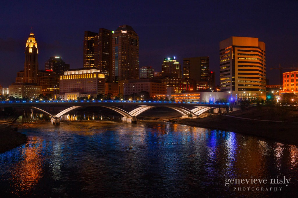 Bicentennial Park, Columbus, Copyright Genevieve Nisly Photography, Engagements, Summer