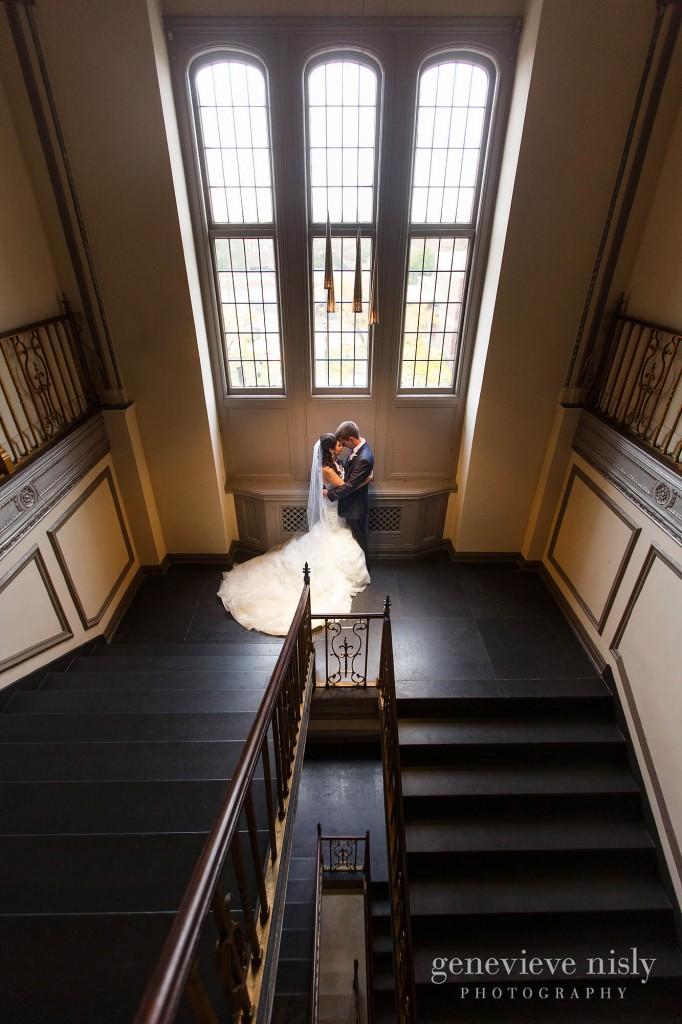 Cleveland, Copyright Genevieve Nisly Photography, Fall, Tudor Arms Hotel, Wedding