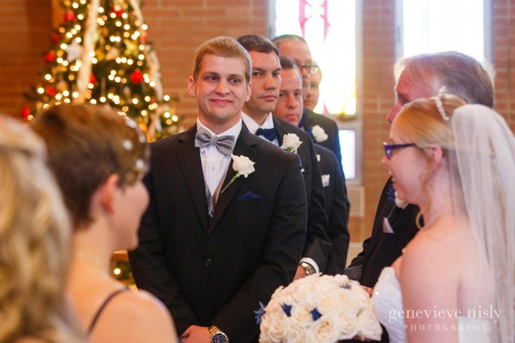 Canton, Copyright Genevieve Nisly Photography, Massillon, Ohio, St Jacob's Lutheran Church, Wedding, Winter