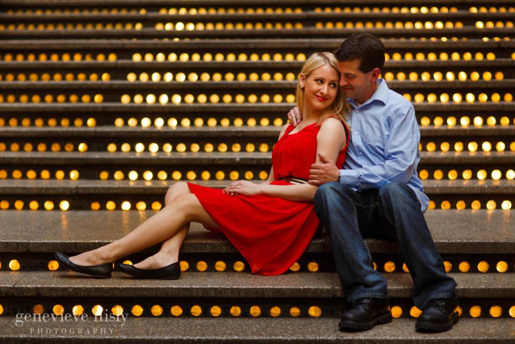 Cleveland, Copyright Genevieve Nisly Photography, Engagements, Hyatt Arcade, Ohio, Spring