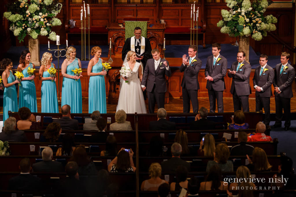 Copyright Genevieve Nisly Photography, Old Stone Church, Summer, Wedding