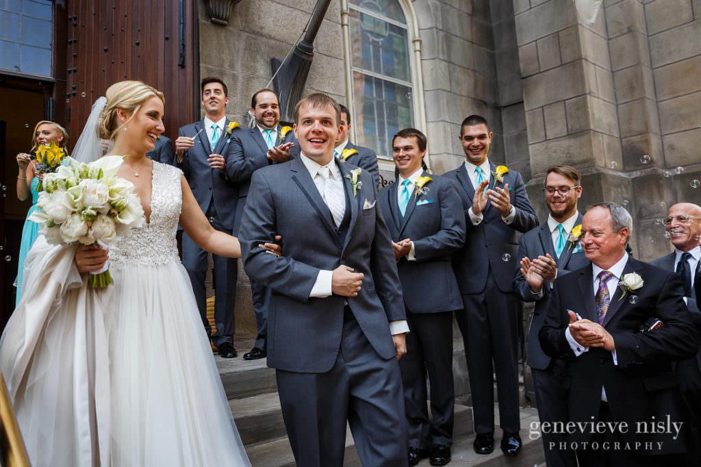 Copyright Genevieve Nisly Photography, Old Stone Church, Summer, Wedding