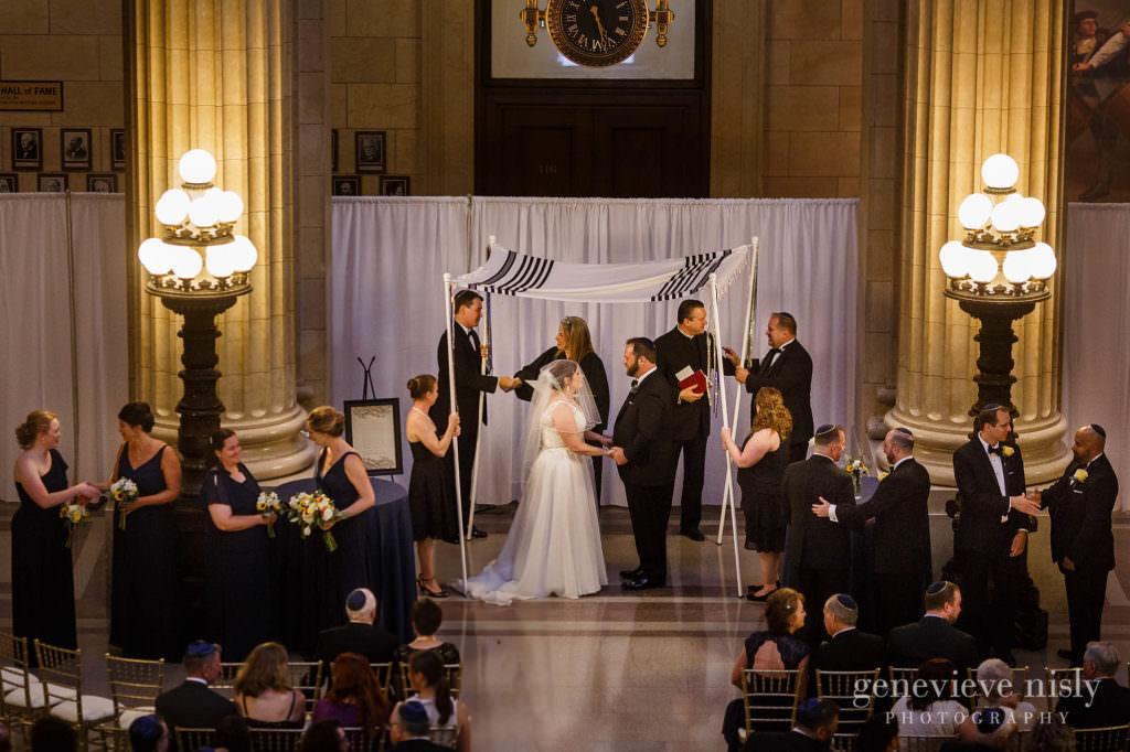 City Hall Rotunda, Cleveland, Copyright Genevieve Nisly Photography, Ohio, Summer, Wedding