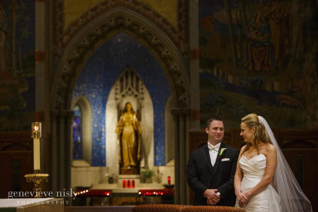 Wedding, Summer, Ohio, Cleveland, St. John's Cathedral