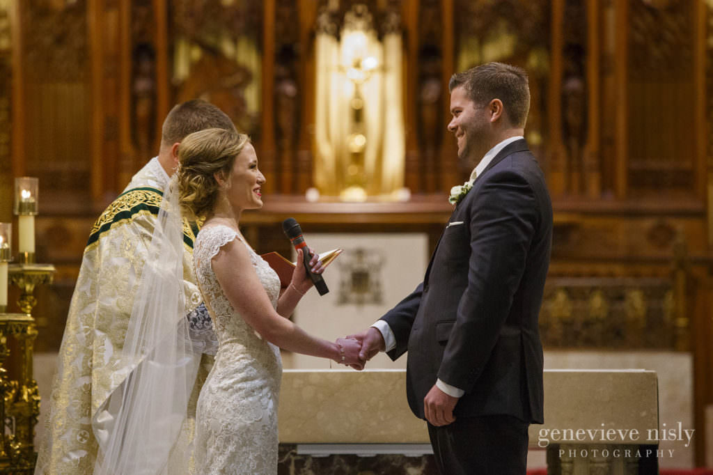 Wedding, Copyright Genevieve Nisly Photography, Fall, Ohio, Cleveland, St. John's Cathedral