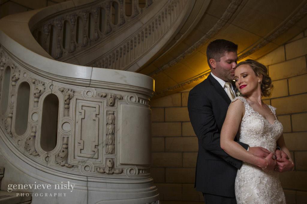 Wedding, Copyright Genevieve Nisly Photography, Fall, Ohio, Cleveland, Old Courthouse