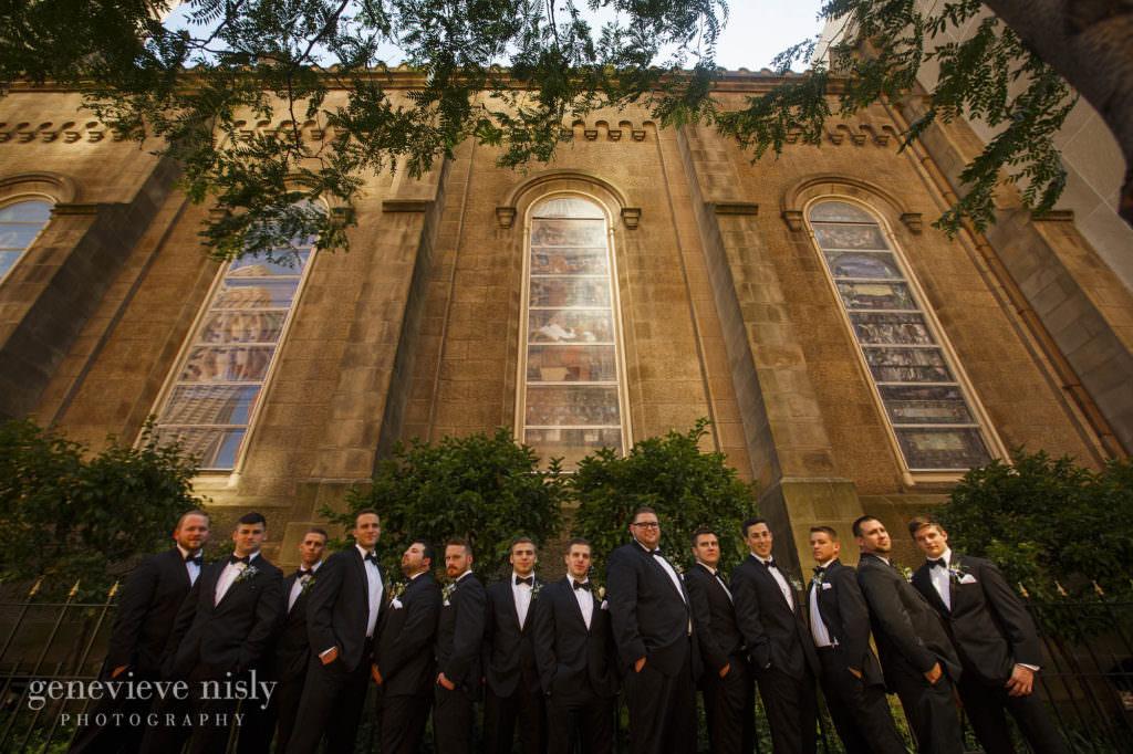 Old Stone Church, Cleveland, Summer, Wedding, Copyright Genevieve Nisly Photography, Ohio