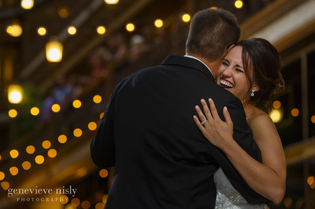 Ohio, Copyright Genevieve Nisly Photography, Wedding, Summer, Cleveland, Hyatt Arcade