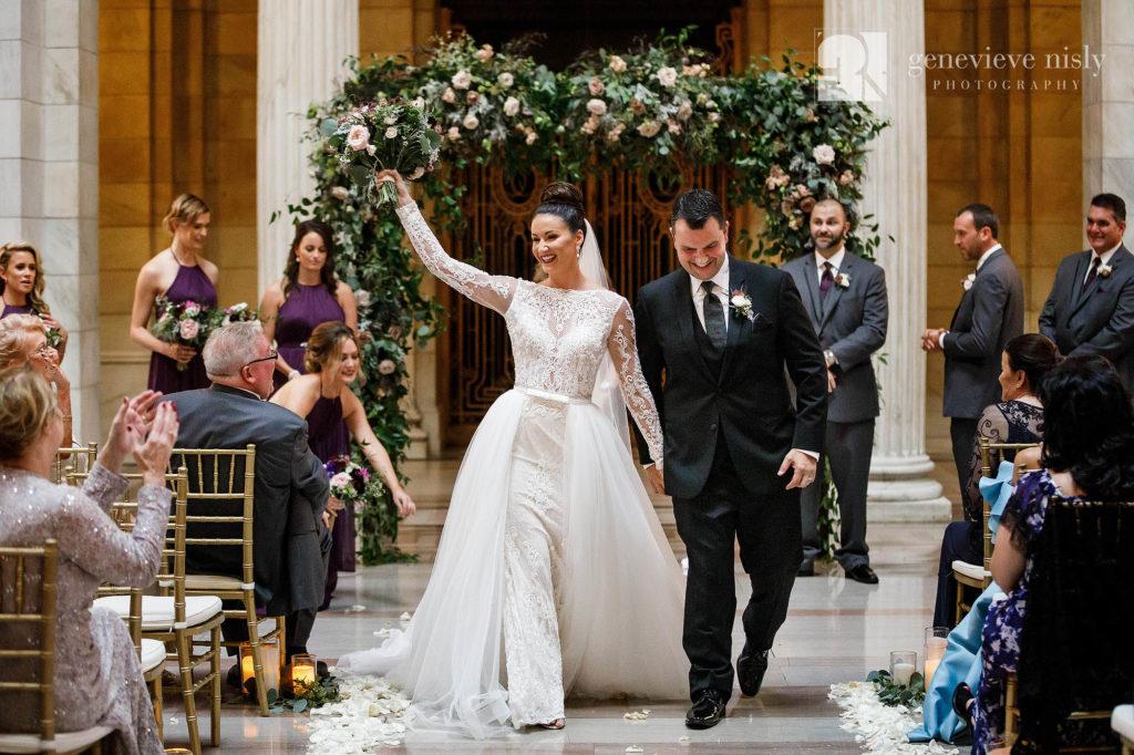 Wedding, Copyright Genevieve Nisly Photography, Cleveland, Old Courthouse