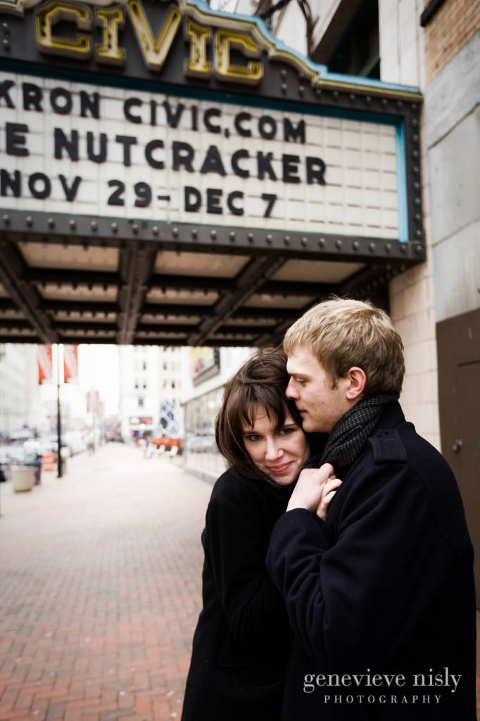 Akron, Copyright Genevieve Nisly Photography, Engagements, Winter