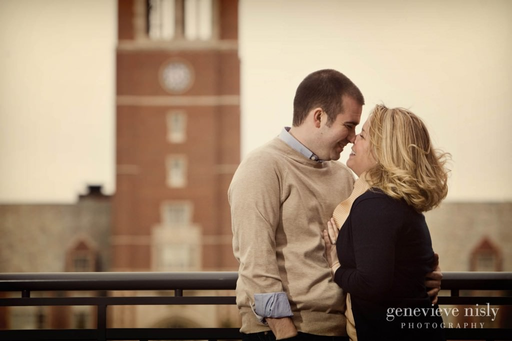 Cleveland, Copyright Genevieve Nisly Photography, Engagements, John Carroll University, Ohio, Spring