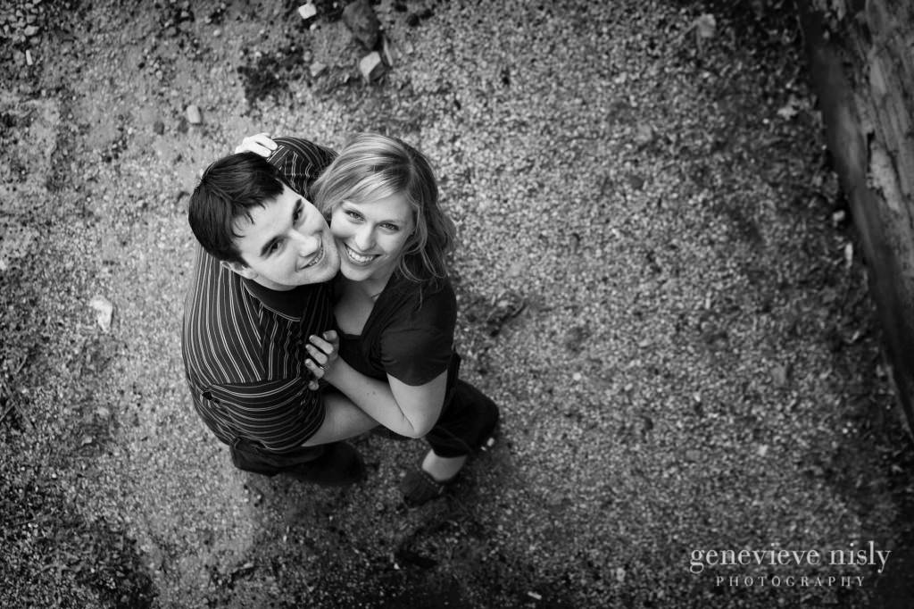 Akron, Copyright Genevieve Nisly Photography, Engagements, Ohio, Spring