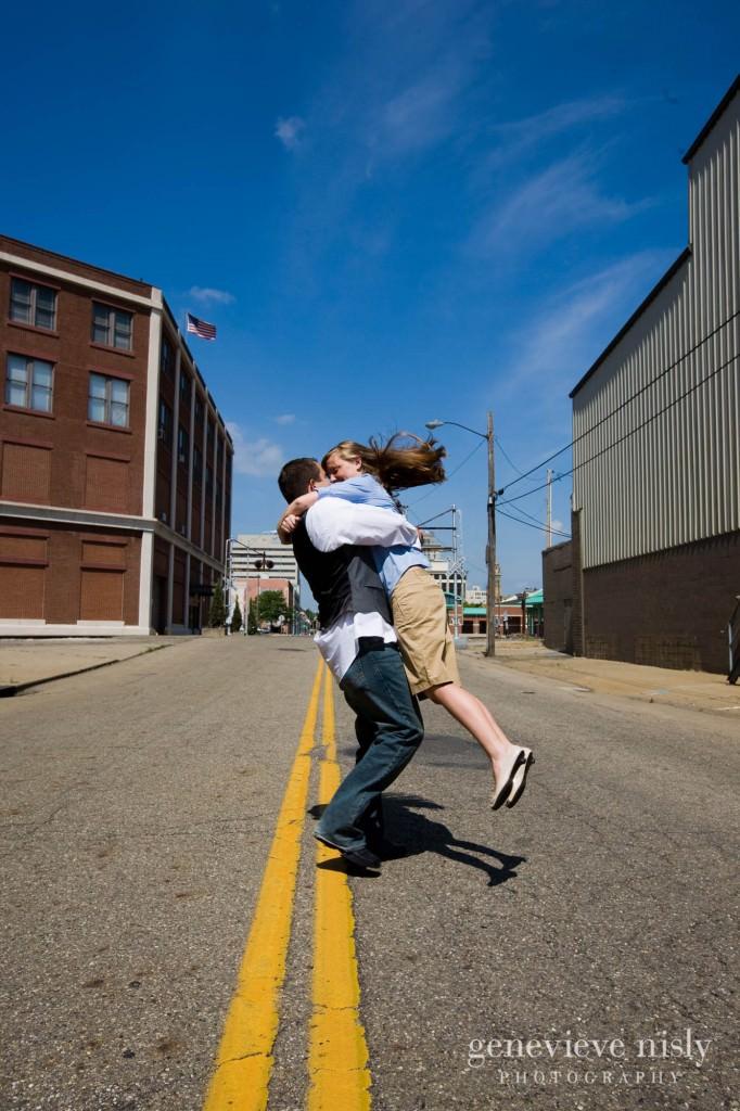 Canton, Copyright Genevieve Nisly Photography, Engagements, Ohio, Summer, Wedding