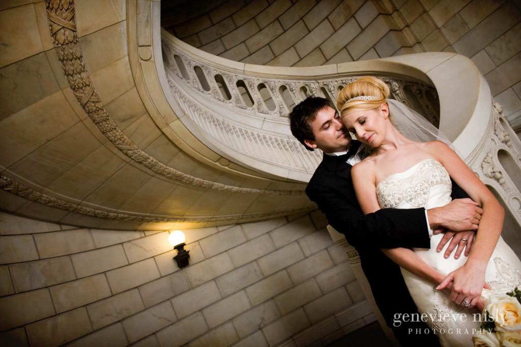 Cleveland, Copyright Genevieve Nisly Photography, Ohio, Old Courthouse, Summer, Wedding