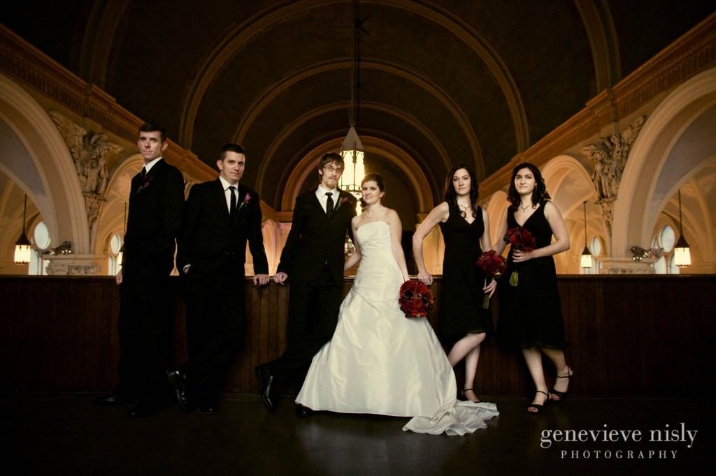 Cleveland, Copyright Genevieve Nisly Photography, Ohio, Old Stone Church, Wedding, Winter